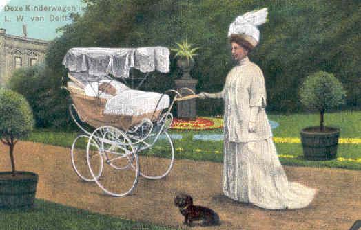 Briefkaart Koningin Wilhelmina