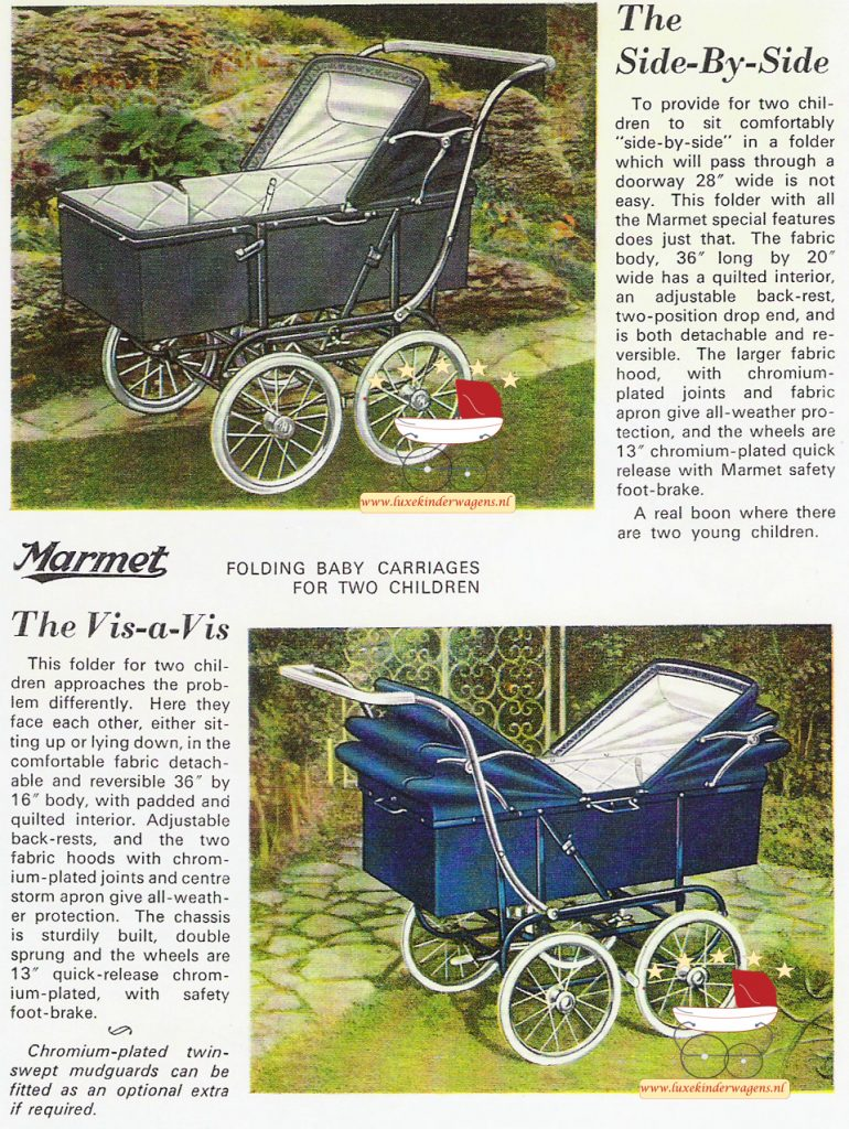 Folding Twin Carriages, 1964