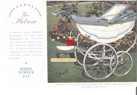 Melrose, model number 252