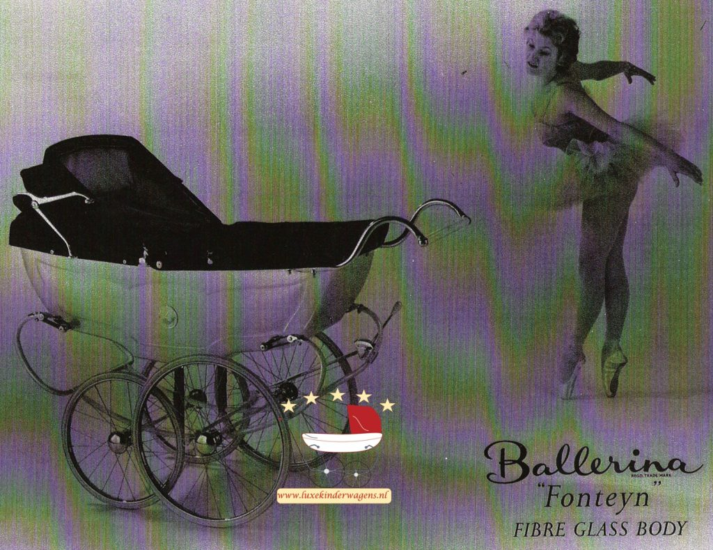 Pedigree Ballerina Fonteyn 1958