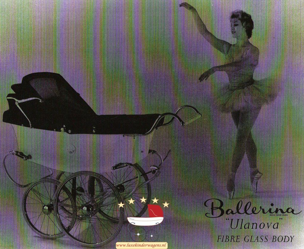 Pedigree Ballerina Ulanova 1958