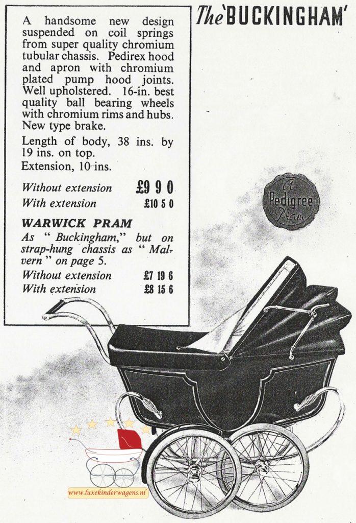 Pedigree Buckingham 40s