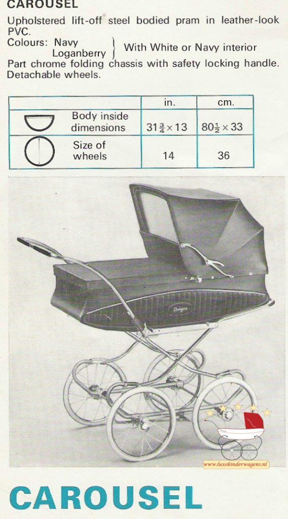 Pedigree Carousel 1970