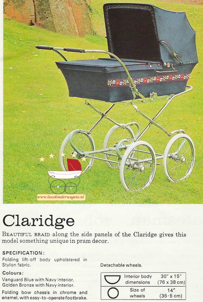 Pedigree Claridge 1972