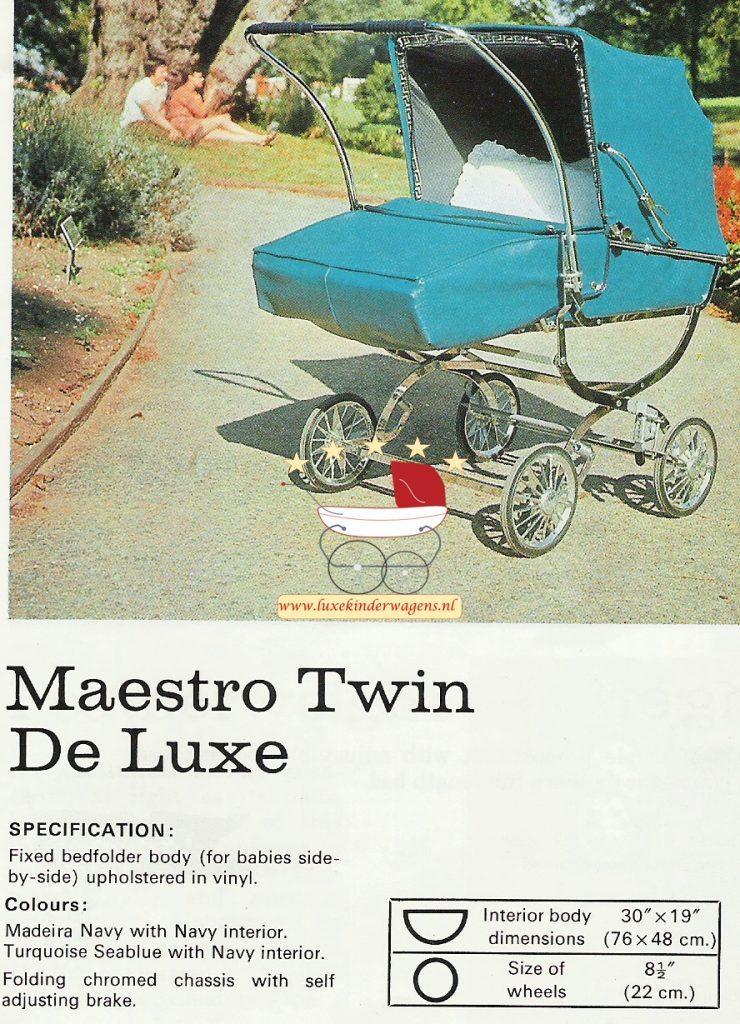 Pedigree Maestro Twin de Luxe 1972