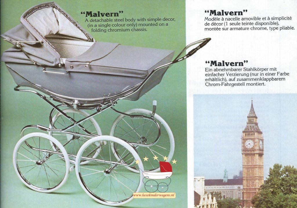 Silver Cross Malvern 1983