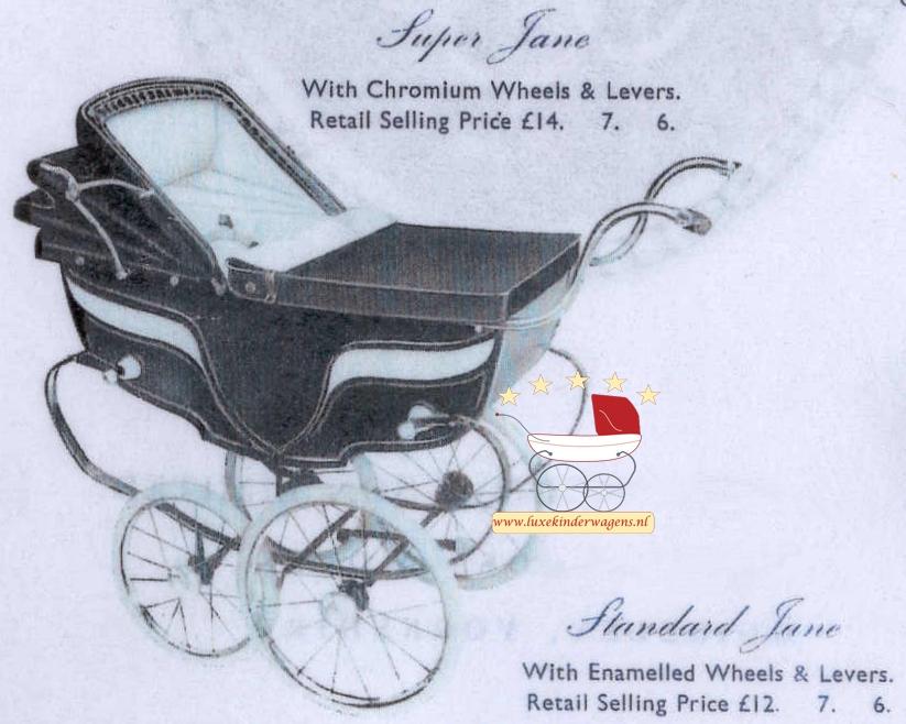 Silver Cross Poppenwagen Jane 1953