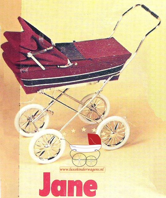 Silver Cross Poppenwagen Jane 1982