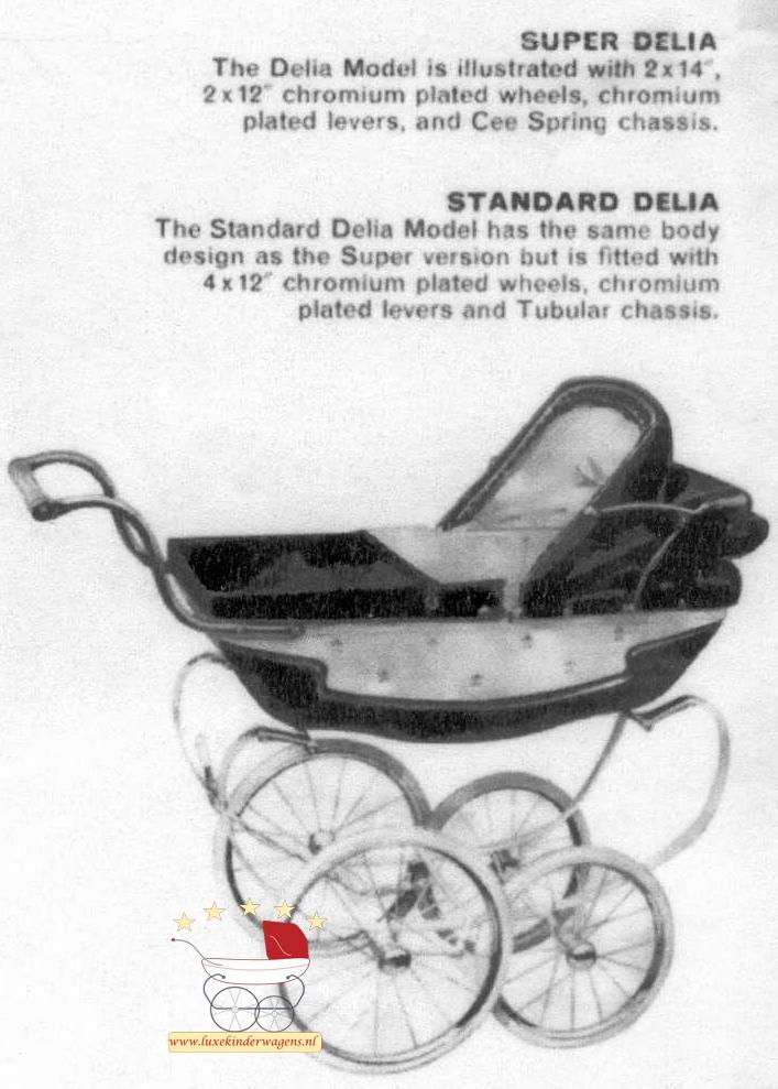 Silver Cross Poppenwagen Standard Delia 1968