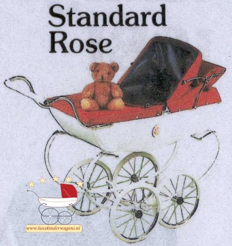 Silver Cross Poppenwagen Standard Rose 1968-1996