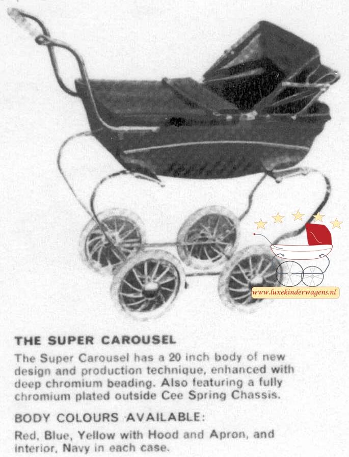 Silver Cross Poppenwagen Super Carousel 1968