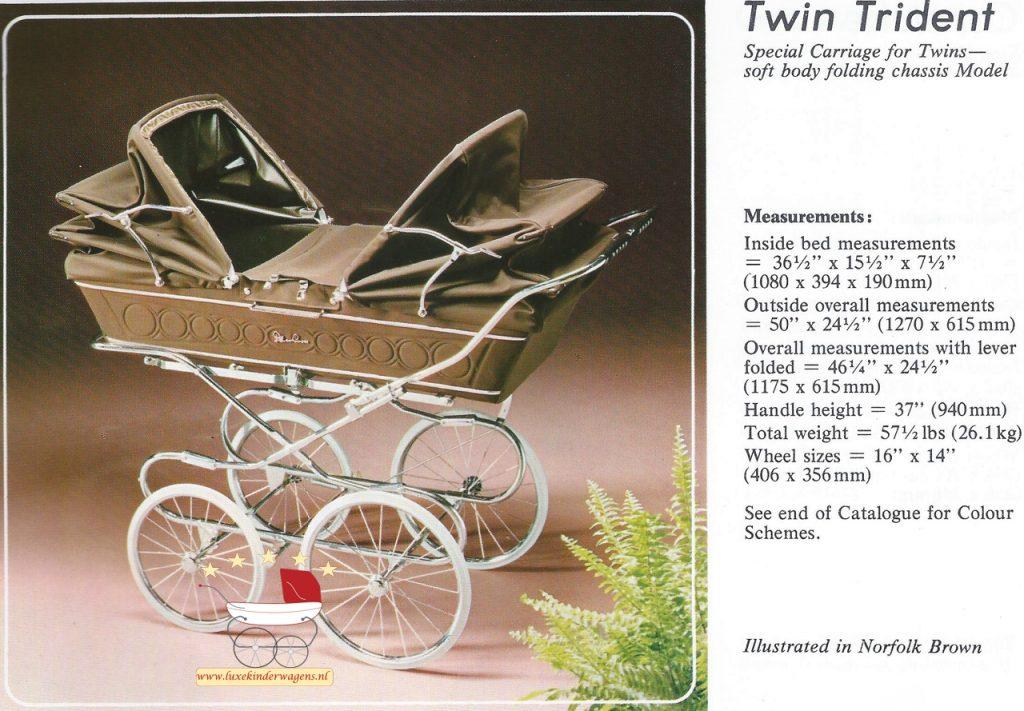 Silver Cross Twin Trident 1979-1983