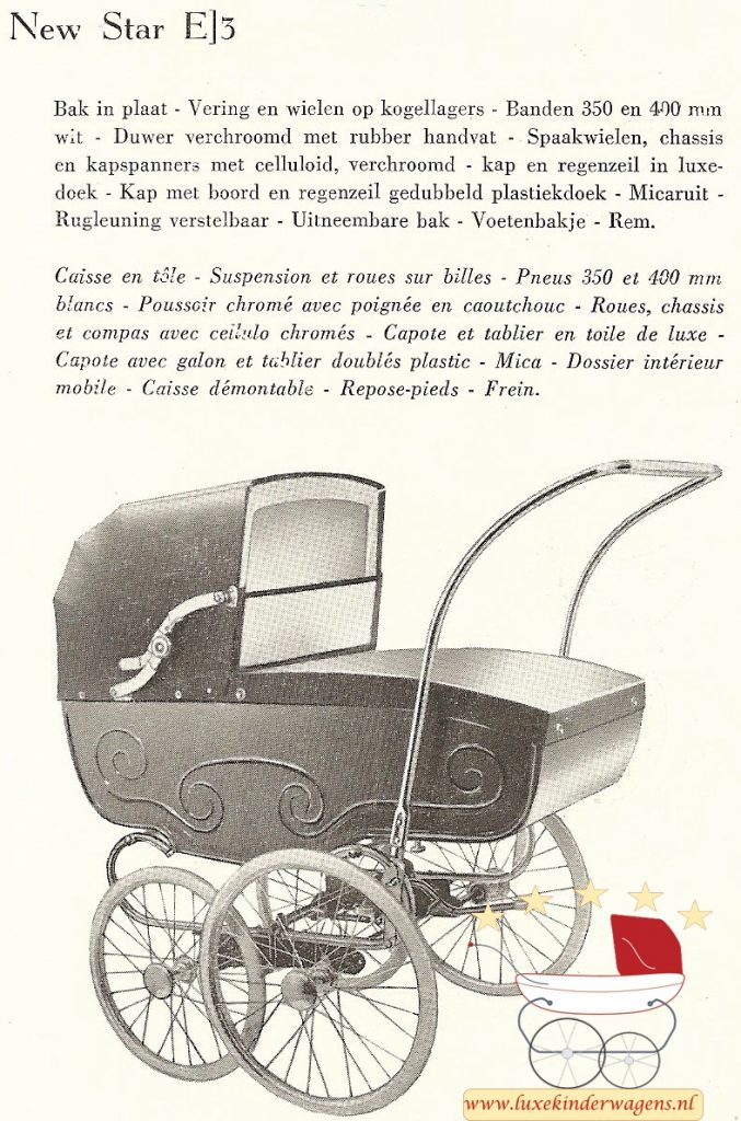 New Star E3, 1957