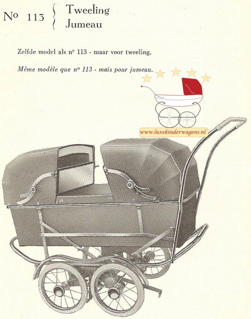 No 113 tweeling, 1957