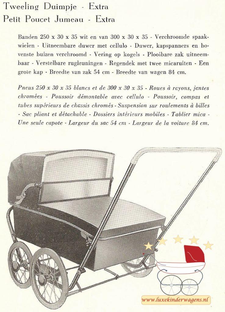 Tweeling Duimpje, 1957