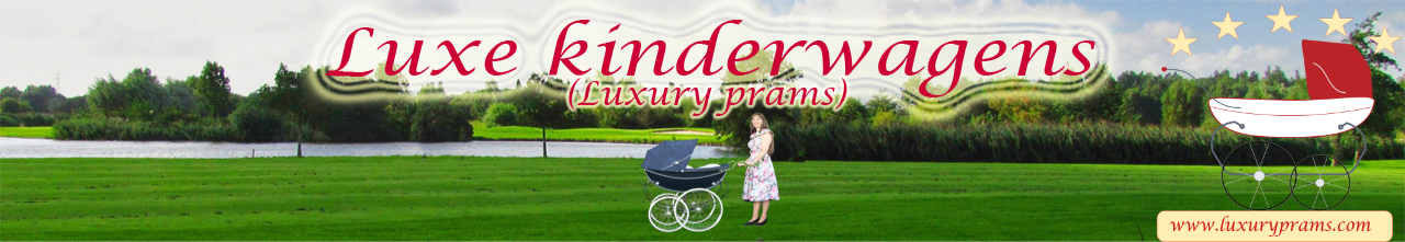 Luxury prams